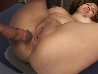 BBW bound and fucked and double penetration