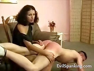 beauty milf spanking strangers