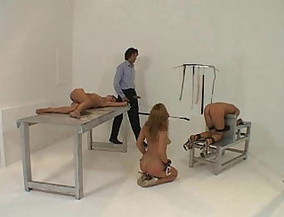Bdsm babe fisted and
