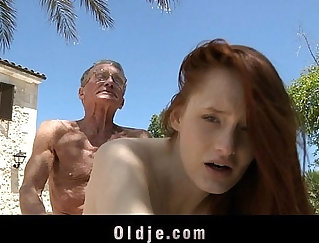 Colelyn tops his own step by giving him a blowjob