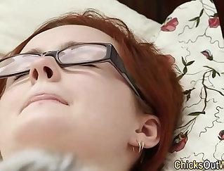 australian masturbates with hairy dick