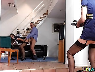 Hot Asian Big tits MILF fucking dick