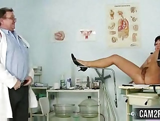 Big Tit StepSis Gets Fucked And Creampied By Mature Doctor