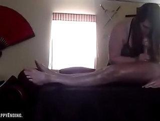 BBWMrsJinks getting a foreskin massage for feeling a cock