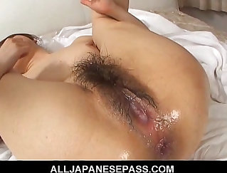 Asian Cougar Gets Wasted In Foreign House
