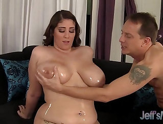 Big tittied black bbw has hardcore and wild sex with two even stranger