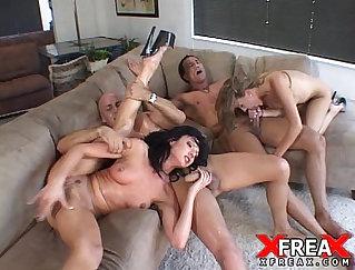 Amazing threesome with kinky nurses Samantha and Mia