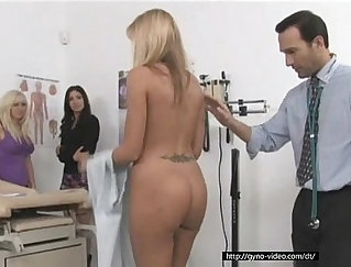 Amazing threeway with four horny doctor
