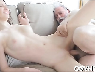 Old and young, perfect intergenerational lust in HD quality