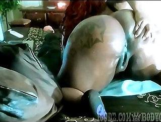 Big bloke pounding his girly - Part