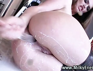 Another pretty girl in vair with the same anal fetish