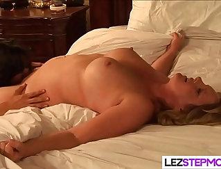 Beautiful Rebecca Lyn Licks Her Pussy