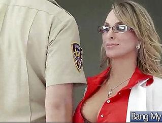 Busty nurse slut railed by hung meatr