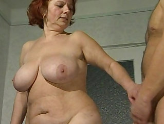 Beautiful brunette pornstar fingering on the stage