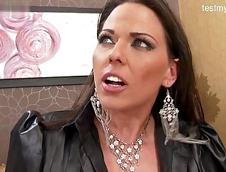 Catsuit Strapon Gives Wife Anal