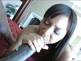 Bitch Fucked By A Big Black Cock POV
