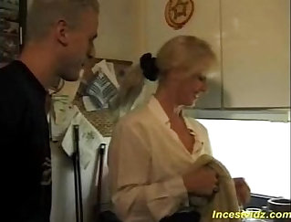 Close threesome affair of perfect busty moms