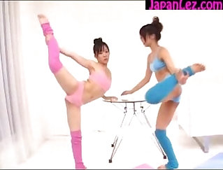 Asian schoolgirl jerks and gets fucked