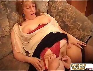 BBW nasty grandma getting film