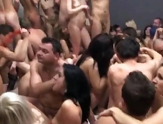 kinky girls share in a wild party