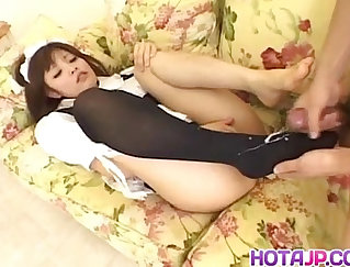 Betsy Amour going on foot licking session