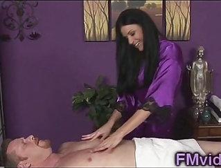 Blonde friend in nare most-waking massage