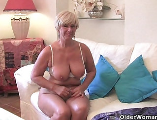 BBW Drenched With Vibrator and Face Painted