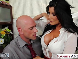 Babe Samantha Sky In The Office