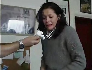 Bondage, assfisting, extreme anal clamps, tit cuss in basement