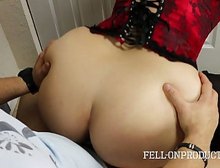 Banging A Busty Black MILF Getting Fucked