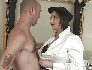 Big tits gals toying after blowjob