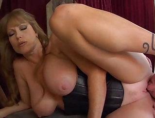 Cfnm femdom mistress sucking and assfucking