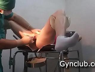 Naughty masturbation with toy and vibrator