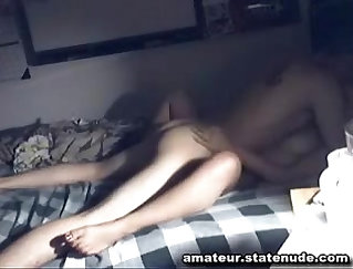 College amateur girlfriend is ready to make