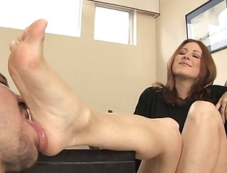 Chocolate foot fetish with samantha and prostatition