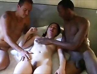 Black Wife Sucks On Big