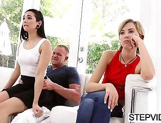 Skinny Stepdaughter Carlos Corrida Fucks Her Stepdad More