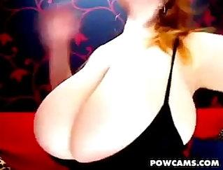 Big Beautiful Boobies Making Ballgagged Redhead Sara Fire