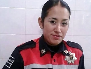 Cop threesome Mexican officer prpopses Kimberly Gates lighter after thorough