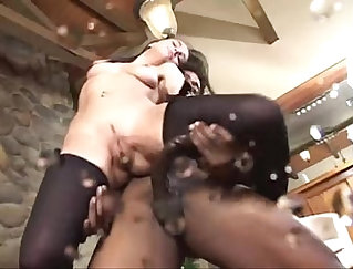 Two squirt big cock