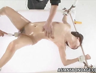 Boobalicious Japanese babe got her anus polished after steamy anal sex
